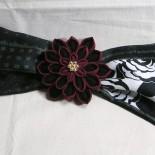 変わり菊ヘアクリップ。2009年